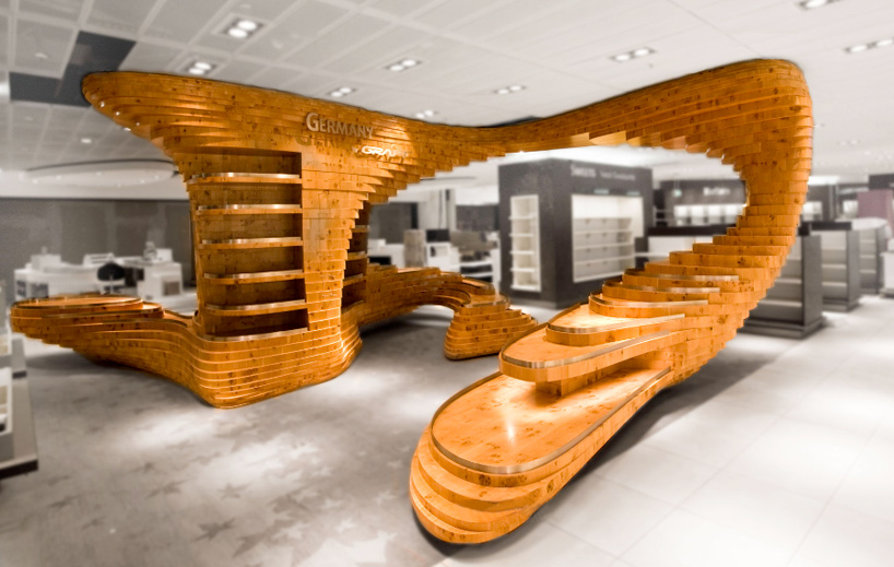 M veis de madeira criativos blog soline - Dazzling apartment design ideas showing sophisticated modern architecture ...