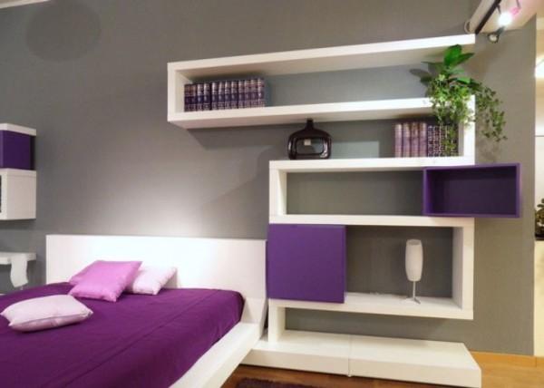 Prateleiras nichos e estantes blog soline - Diseno de habitaciones pequenas ...